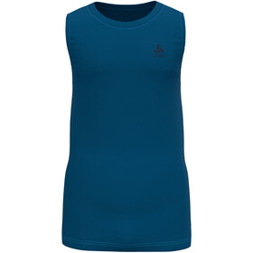 Odlo Active F-Dry Light Eco Top Crew Neck Tank Men, mykonos blue